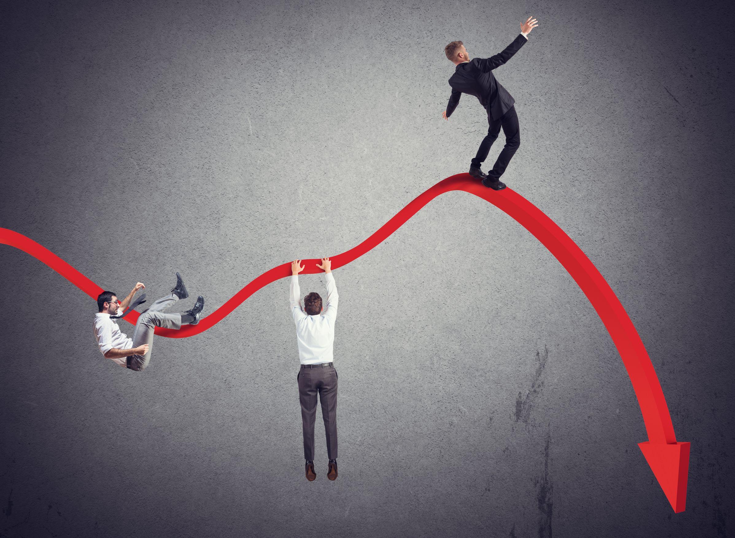 Allerta sulla crisi d'impresa: a rischio otto società su 100