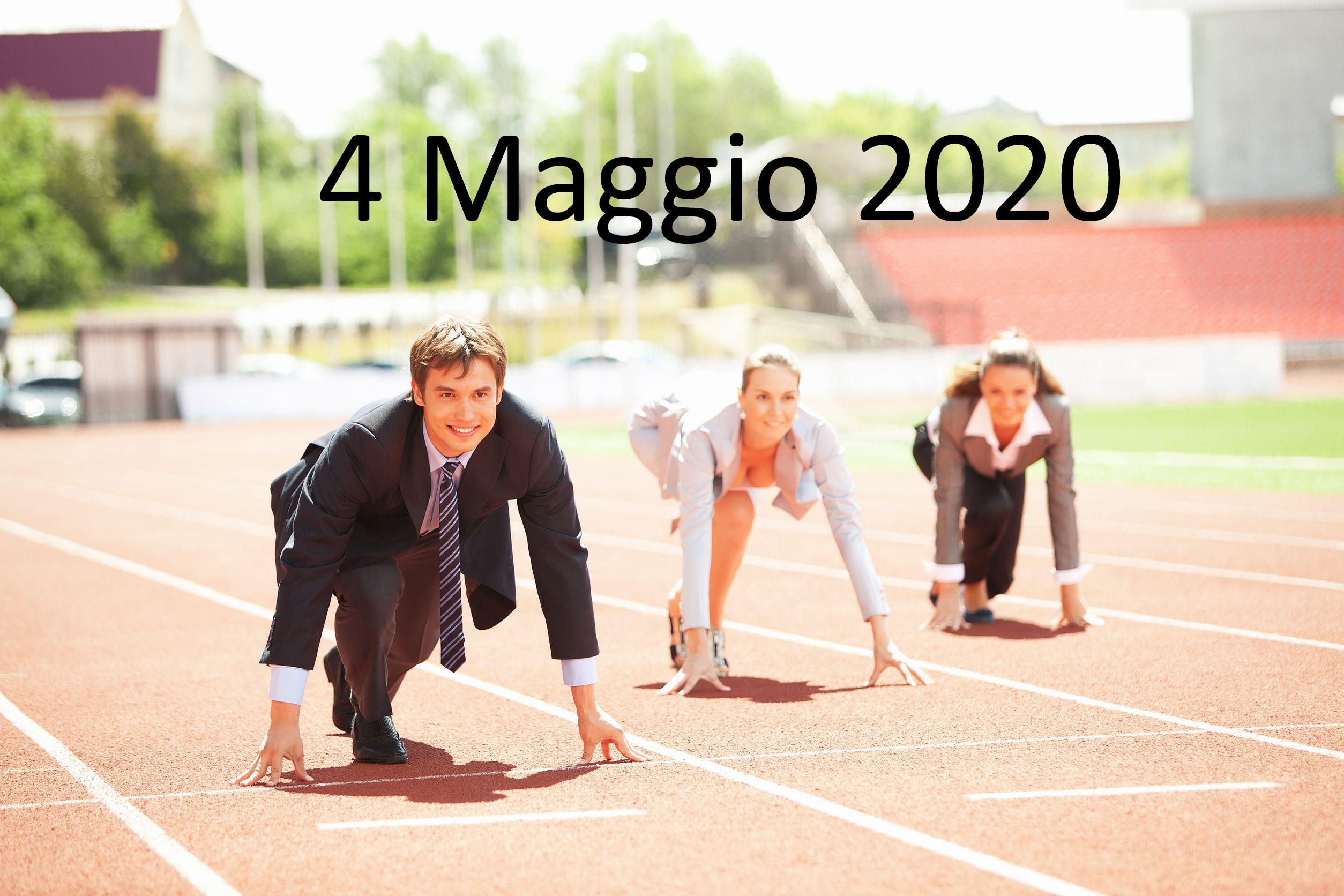 DPCM 26 Aprile 2020 – 4 Maggio si inizia a ripartire