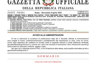 Decreto Liquidità – pubblicato in Gazzetta Ufficiale