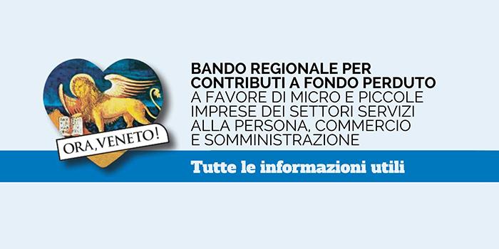 Regione Veneto – Contributi a fondo perduto per le micro e piccole imprese
